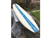 """Surfboard longboard custom Hooded Villain 9' 6"""""""