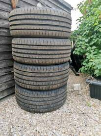 Tyres 17/225/40 Goodyear Eagle f1