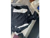 Boys Adidas zip up jacket hoodie