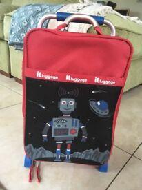 Boys travel suitcase/ luggage/ bag on wheels