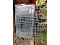 5 x brand new Gabion baskets, L1m H0.5m W0.5, 3mm galfan