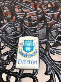 Everton zip lighter vintage