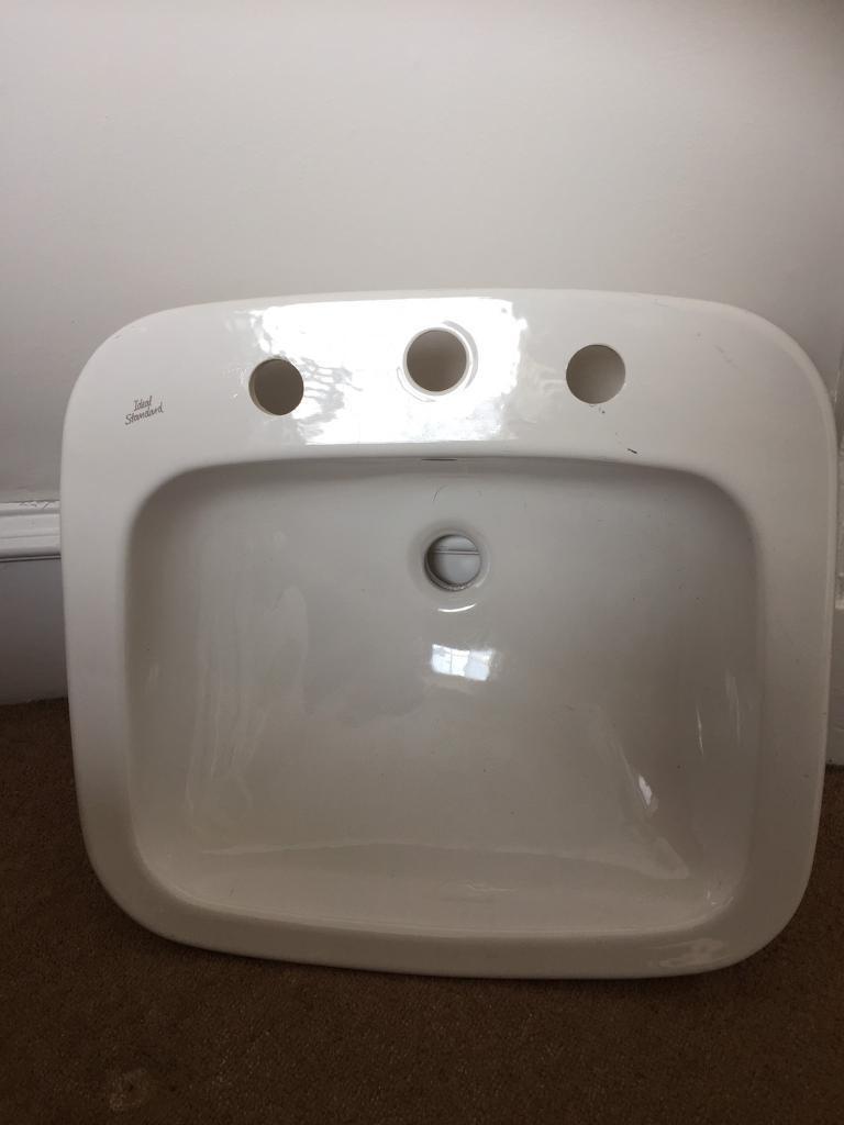 Bathroom Sinks Edinburgh ideal standard bathroom sink / basin - unused | in new town