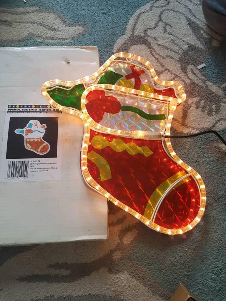 Light up stocking