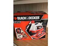 Black & Decker 2400 wallpaper steamer / stripper - new and unused