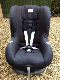Britax eclipse black car seat, stage 1, age1-4