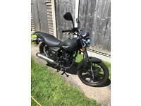 2016 Lexmoto ZSB 125cc Motorbike 290 Miles Only!