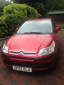 Low mileage Citroen C4 great condition!