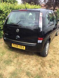 Vauxhall meriva 1.4 petrol with MOT until 13/5/19