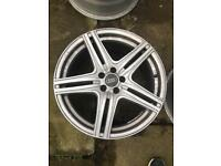 Audi allloy wheels 225/40/18 225 45 18 235/40/18 5 spoke