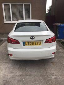 White Lexus is220d