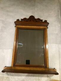Mantle shelf mirror for sale