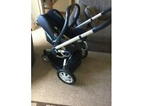 Quinny Buzz Travel System with extra stroller pram and toddler car seat