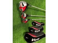Full set of Voit V7 golf clubs