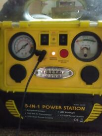 The 5 in 1 power station .