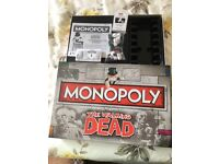 Monopoly The Walking Dead - Brand New