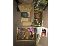 HUGE reptile job lot, items individual or bundles available