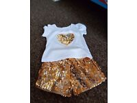 Brand New Girls Outfit Size 9-12mnths