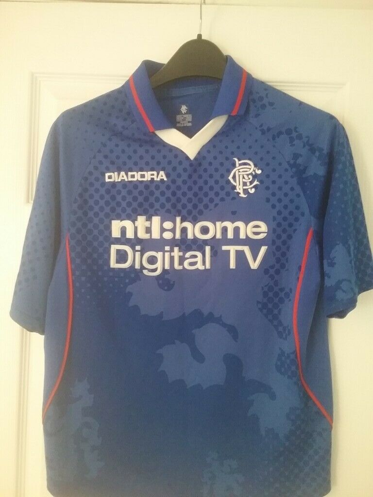 half off 4c94c 02fba Glasgow Rangers vintage football jersey's | in East End, Glasgow | Gumtree