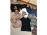 Size 8-10 bundle women's clothes