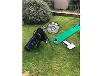 Junior Golf Clubs, Bag, Balls, Putting & Chipping Practice