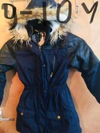 Parka coat x2