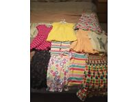Baby girl age 18-24 summer clothes bundle