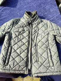 Spurs boys quilted jacket
