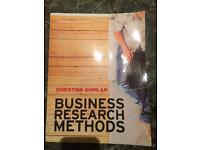 Business Research Methods by Christina Quinlan