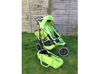 Phil and Teds Sport Double Buggy with pod