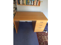 Desk with drawers - ideal for school work.