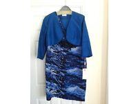 Condici 11249 Jacket/Dress, Romantica Blue, UK 20 RRP £800