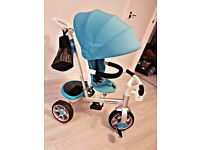 Light blue trike from Toys r us