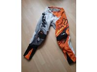 Motorcross trousers and top