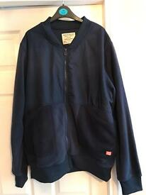 Mens Jack Jones zip through top XL