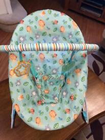 Baby rocking chair bright star