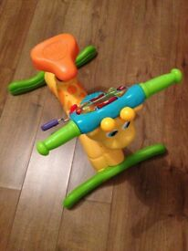 Vtech Bounce and Ride Giraffe