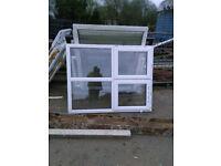 Reclaimed pvc windows