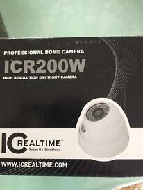 Professional Dome Camera ICR200W High Resolution Day/Night Camera