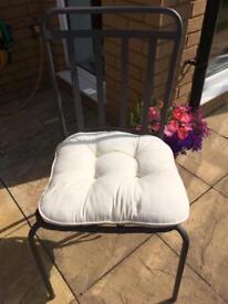 Cream Chair Cushions