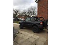 Vauxhall Frontera Off Roader Mud Tyres Winch