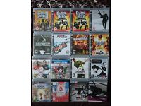 Sony PlayStation 3 / PS3 Video Game Collection (16 Games): Includes COD 4: MW & Eye Toy Camera
