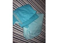 Teal Reversible Double Bedding