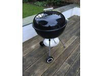 Weber Original 57cm Kettle Barbecue Charcoal Grill with Cover
