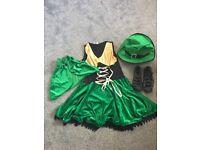 Ladies Irish fancy dress costume