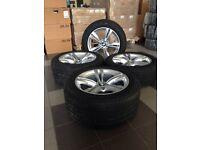19 inch original summer BMW wheels set X5 F15 E70 Styling M467 Pirelli tyres UK Delivery