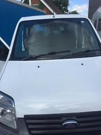 Ford connect van with factory fitted rear seats