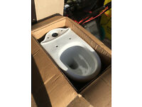 Victoria Plum Orchard Eden close coupled toilet pan and soft close seat