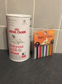 Royal Canin Babycat Milk Bottles and Kitten Collars