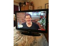 Samsung 37 inch tv with remote control